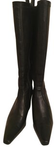 Alfani Black Leather Boots