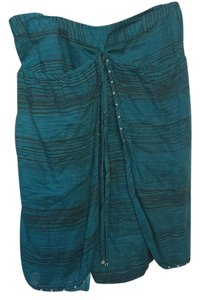 Odille Mini Skirt Turquoise