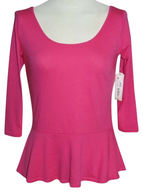 Preload https://img-static.tradesy.com/item/205251/arizona-pink-junior-medium-scoop-neck-tee-shirt-size-8-m-0-0-650-650.jpg