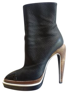 Proenza Schouler Leather Black Boots