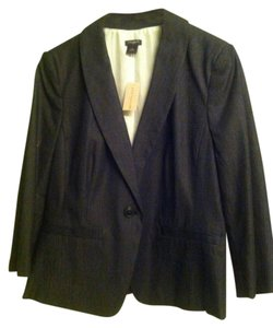 Ann Taylor Ann Taylor 1 Button Lined Suit Jacket Womens