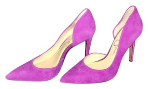 Jessica Simpson Sexy Style Sold Out As New Condition Box FREESIA ~ A ORCHID COLOR Pumps