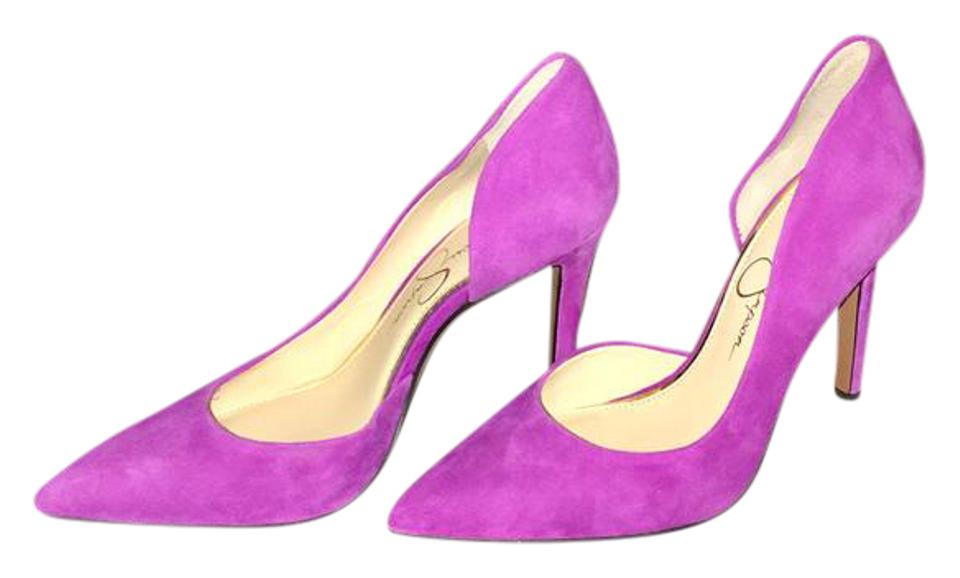 be416ea2572 Jessica Simpson Freesia ~ A Orchid Color Claudette D'orsay Lux Kid Suede As  New Pumps Size US 5.5 Regular (M, B) 34% off retail