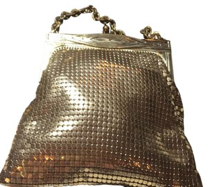 Whitney Davis Vintage Two ' gold and silver Clutch