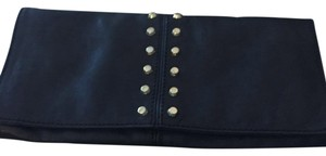 Michael Kors black with gold studs Clutch