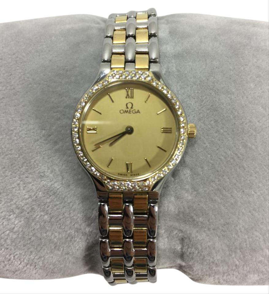 Omega 2001 OMEGA Deville Ladies Two-Tone Watch