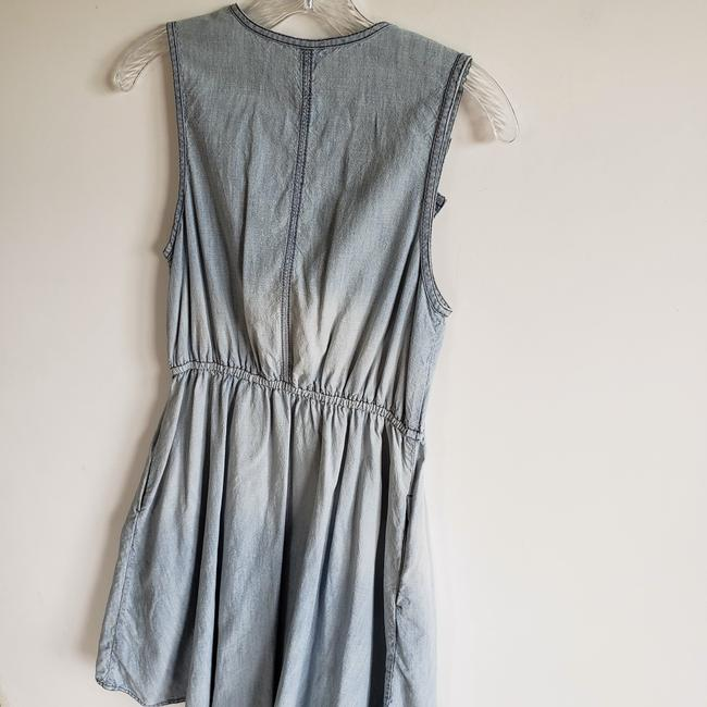 Blue Maxi Dress by Anthropologie Image 5