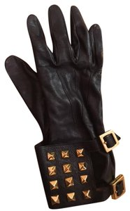 Tory Burch Tory Burch Leather Gloves sz 7.5