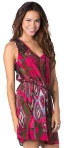 Miss Me short dress Pink/Multi on Tradesy