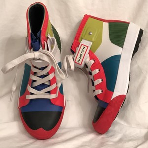 Hunter New/nwt Color Blocking High Tops (Multi) Athletic