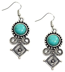 Other Exotic Turquoise Dangle Earrings
