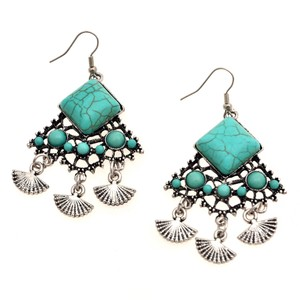 Other Empress Turquoise Chandelier Earrings