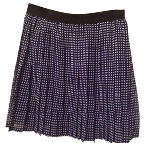 A|X Armani Exchange Designer Mini Skirt Blue