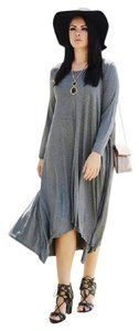 Gray Maxi Dress by Wild Plum