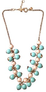 J.Crew J. Crew Teal and White Necklace
