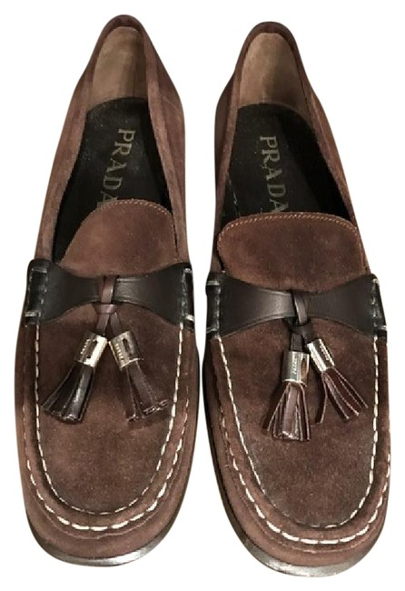 Item - Brown Suede Loafers Flats Size US 6.5 Regular (M, B)