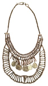 Urban Outfitters Urban Outfitters Gold Statement Bib Necklace