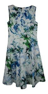Calvin Klein short dress Blue Multi on Tradesy