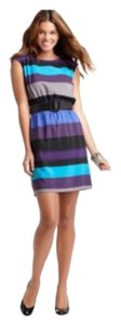 Ann Taylor LOFT short dress Purple Ombre on Tradesy