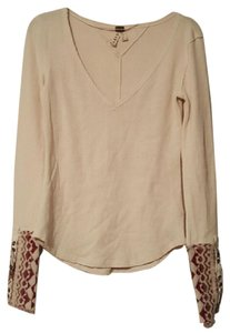Free People Wethefree Thermal Cuff Sweater