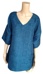Soft Surroundings Top Blue