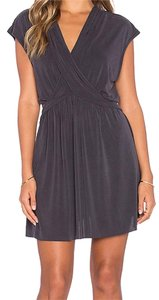 Free People Mini Cap Sleeve V-neck Dress