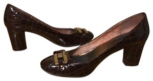 Anne Klein Tortise Patent Leather Pumps