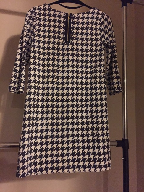 H&M short dress Black and White Houndstooth Short on Tradesy Image 1