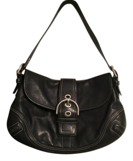 Preload https://img-static.tradesy.com/item/20525937/coach-handbag-black-leather-baguette-0-1-540-540.jpg