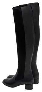 Zara Over The Knee Tall Black Boots