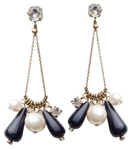 Ann Taylor geometric drop earring