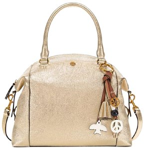 Tory Burch Satchel in SPARK GOLD