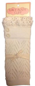Designer is CC Crochet-Knit-Lace-Boot-Cuffs-Toppers-Arm/Leg Warmers-Sleeve Cuffs