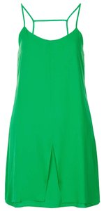 Topshop short dress Green on Tradesy