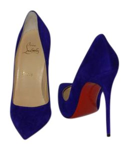 Christian Louboutin Brand New In Box PURPLE Pumps