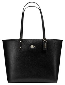 Coach Travel Oversized Large Multifunction Multicolor Tote in Black