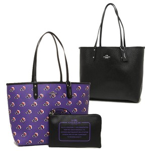 Coach Travel Oversized Large Multifunction Multicolor Tote in Purple