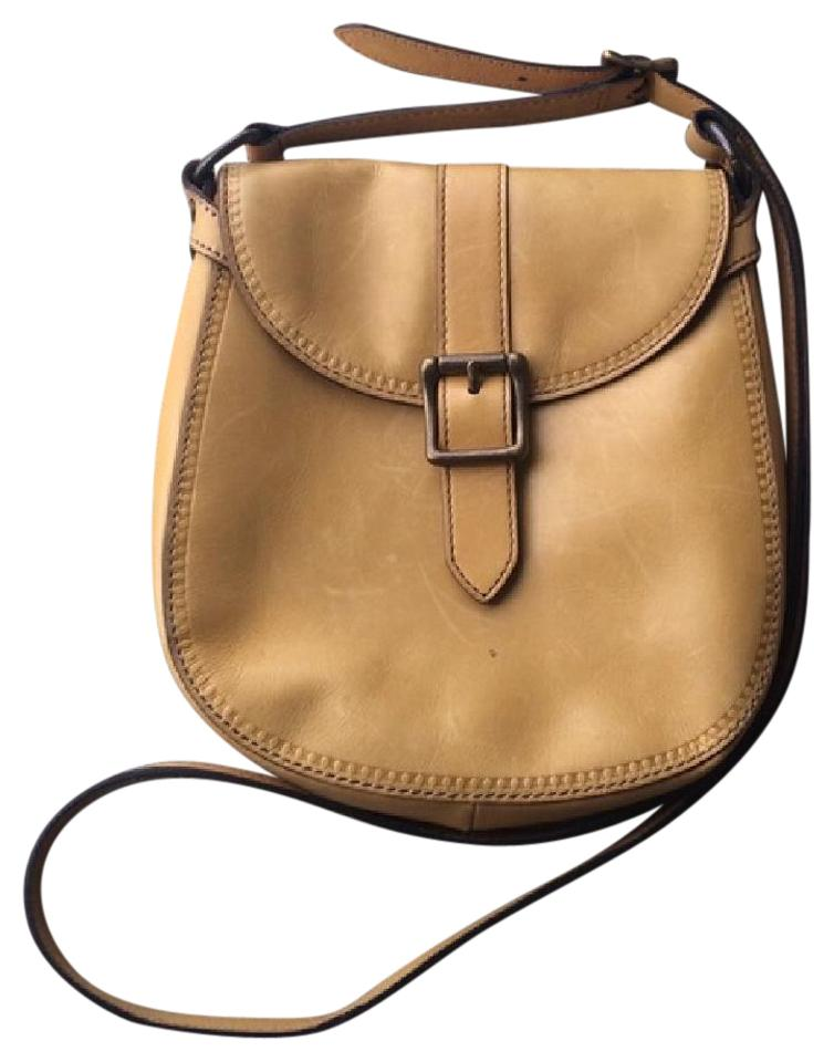 4550d244f Fossil Vintage Reissue (Vri) Small Flap Mustard Leather Cross Body Bag