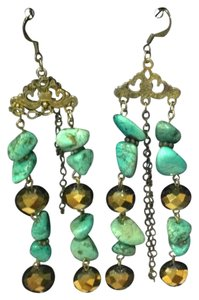 Other turquoise chandelier earrings