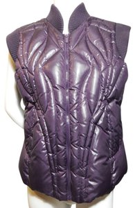 BCBGMAXAZRIA Geometric Winter Vest