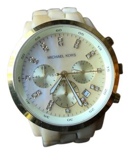 Michaels Tortoise Chronograph watch