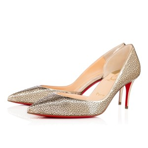 Christian Louboutin LIGHT GOLD/ IVORY Pumps