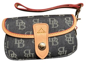Dooney & Bourke Wristlet in Denim Blue