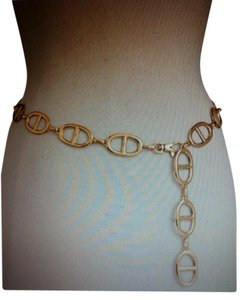Michael Kors New Toggle Chain Link Clip Belt Size Large-PERFECT CONDITION-Retal$138