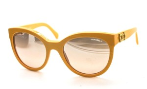 Chanel Chanel 5315 Yellow pantos sunglasses La Boy-like turn lock accents
