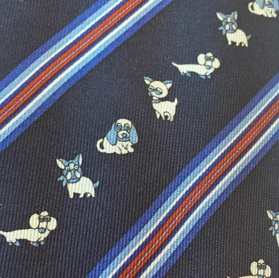 fdec08969790 Gucci Blue New Without Tag Animal Silk Tie/Bowtie Image 5. 123456