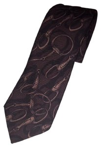 Céline Brown New Without Tag Silk Tie/Bowtie