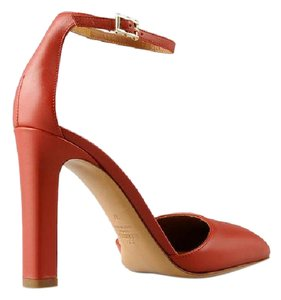 Valentino Leather Ankel Strap red Pumps