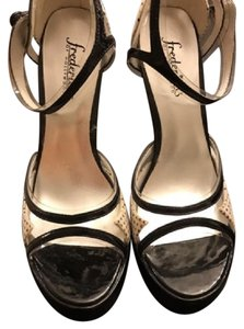 Frederick's of Hollywood Black and off white Platforms