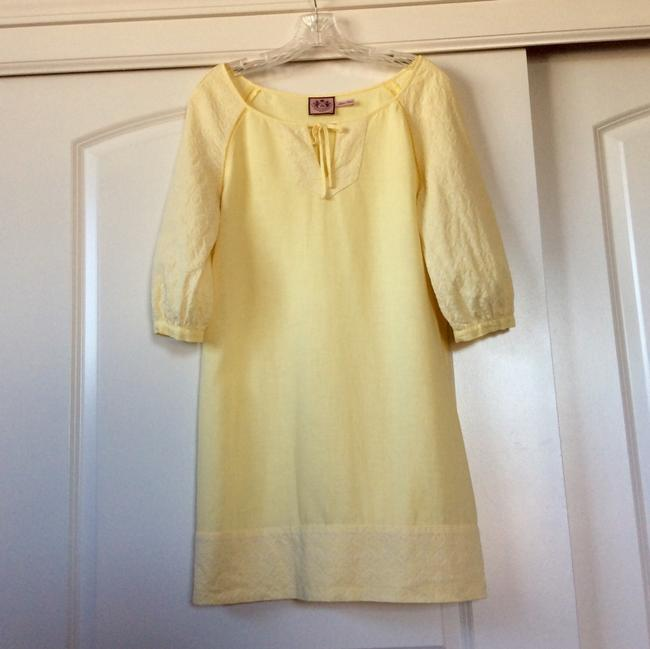 Juicy Couture short dress Bright, yet pale yellow on Tradesy Image 1
